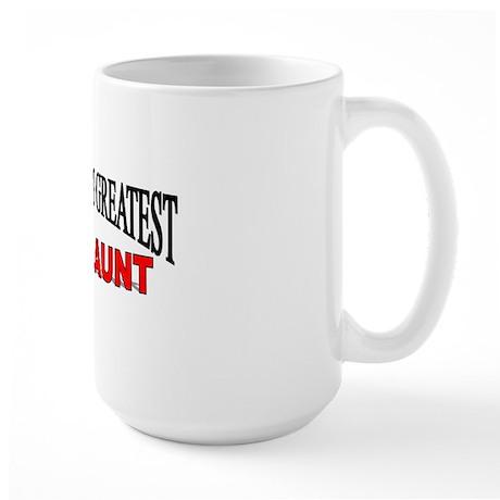 """The World's Greatest Great Aunt"" Large Mug"