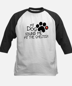 Found Me At The Shelter Baseball Jersey