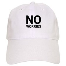 No Worries Baseball Baseball Cap
