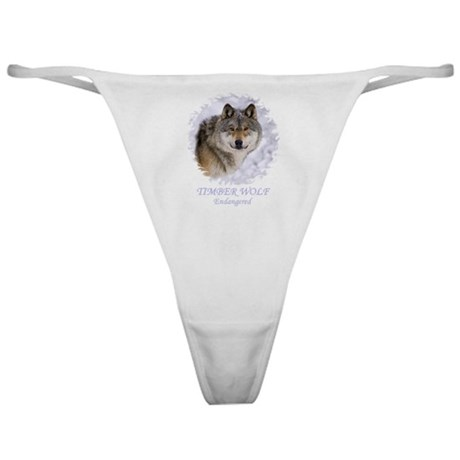 TIMBER WOLF - ENDANGERED Classic Thong