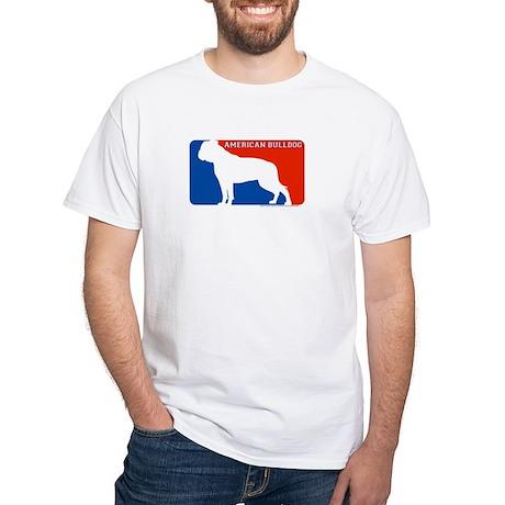 American Bulldog MLD White T-Shirt
