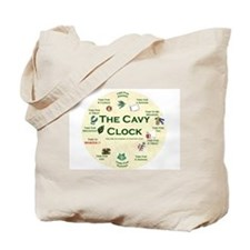 'The Cavy Clock' Tote Bag