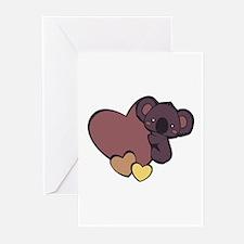 Koala Love Greeting Cards