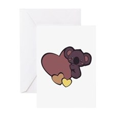 Koala Love Greeting Cards