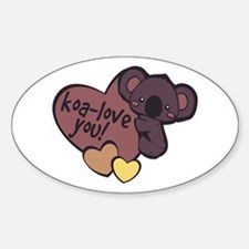 Koa-Love You Decal