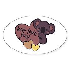 Koa-Love You Decal