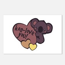 Koa-Love You Postcards (Package of 8)