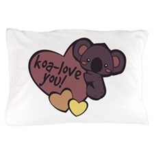 Koa-Love You Pillow Case