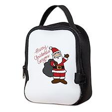 Merry Christmas Everyone Neoprene Lunch Bag