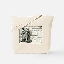 Cute Mansfield park Tote Bag