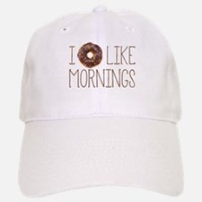 I Donut Like Mornings Baseball Baseball Baseball Cap