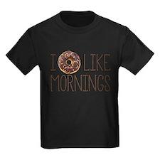 I Donut Like Mornings T-Shirt