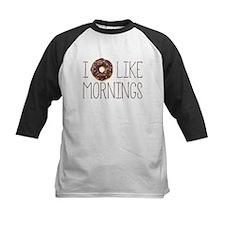 I Donut Like Mornings Baseball Jersey