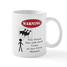 Funny Goat Warning Mugs