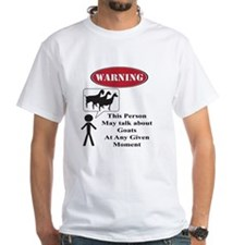 Funny Goat Warning T-Shirt