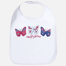 Butterflies Are Free Bib