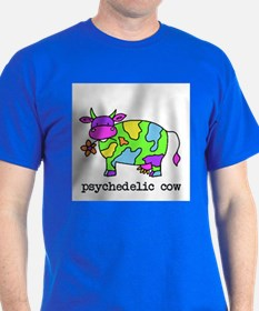 psychedelic cow T-Shirt