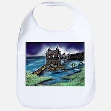 Unique Dragon castle Bib