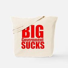 Big Government Sucks Tote Bag
