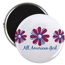 "All American Girl 2.25"" Magnet (10 pack)"