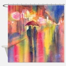 Cute New orleans voodoo couple Shower Curtain