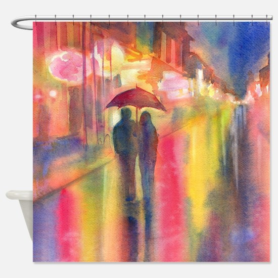 Cute Valentines day Shower Curtain