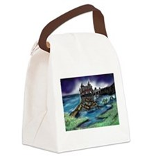 Cute Water animals Canvas Lunch Bag