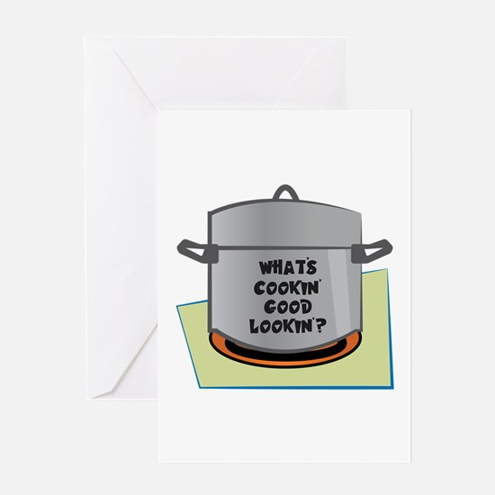 Whats Cookin Good Lookin Greeting Cards
