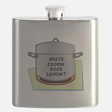 Whats Cookin Good Lookin Flask