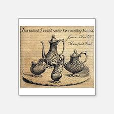 Jane Austen: Nothing But Tea Sticker