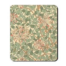 William Morris Honeysuckle pattern Mousepad