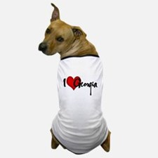 I LOVE GEORGIA Dog T-Shirt