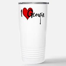 I LOVE GEORGIA Travel Mug
