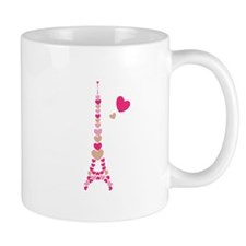 Eiffel Tower Mugs