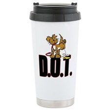 Piss on DOT Travel Mug