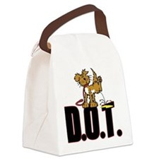 Piss on DOT Canvas Lunch Bag