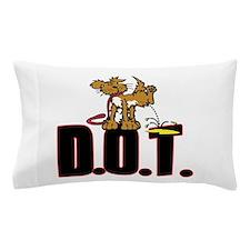 Piss on DOT Pillow Case