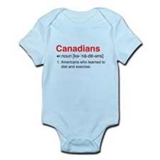 Funny Canadians Definition Body Suit