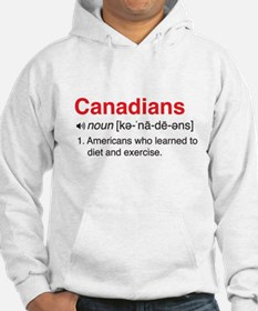 Funny Canadians Definition Hoodie