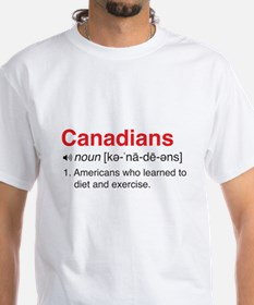 Funny Canadians Definition T-Shirt