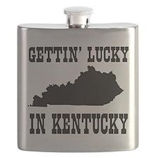 Gettin' lucky in Kentucky Flask