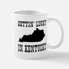 Gettin' lucky in Kentucky Mugs