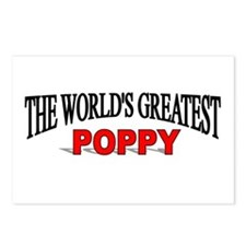 """""""The World's Greatest Poppy"""" Postcards (Package of"""
