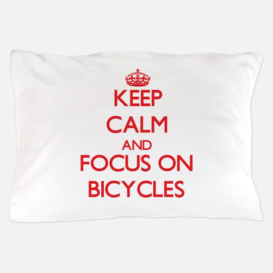 Cute Tandem cycle Pillow Case
