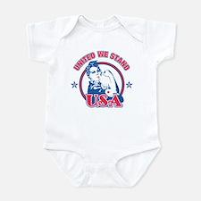 Rosie Riveter United USA Infant Bodysuit