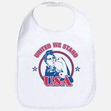 Rosie Riveter United USA Bib