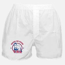 Rosie Riveter United USA Boxer Shorts
