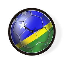 Solomon Islands Football Wall Clock