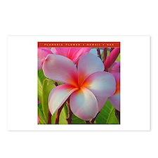 Plumeria Blossom Postcards (PKG 8)