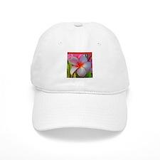 Plumeria Blossom Ball Baseball Cap